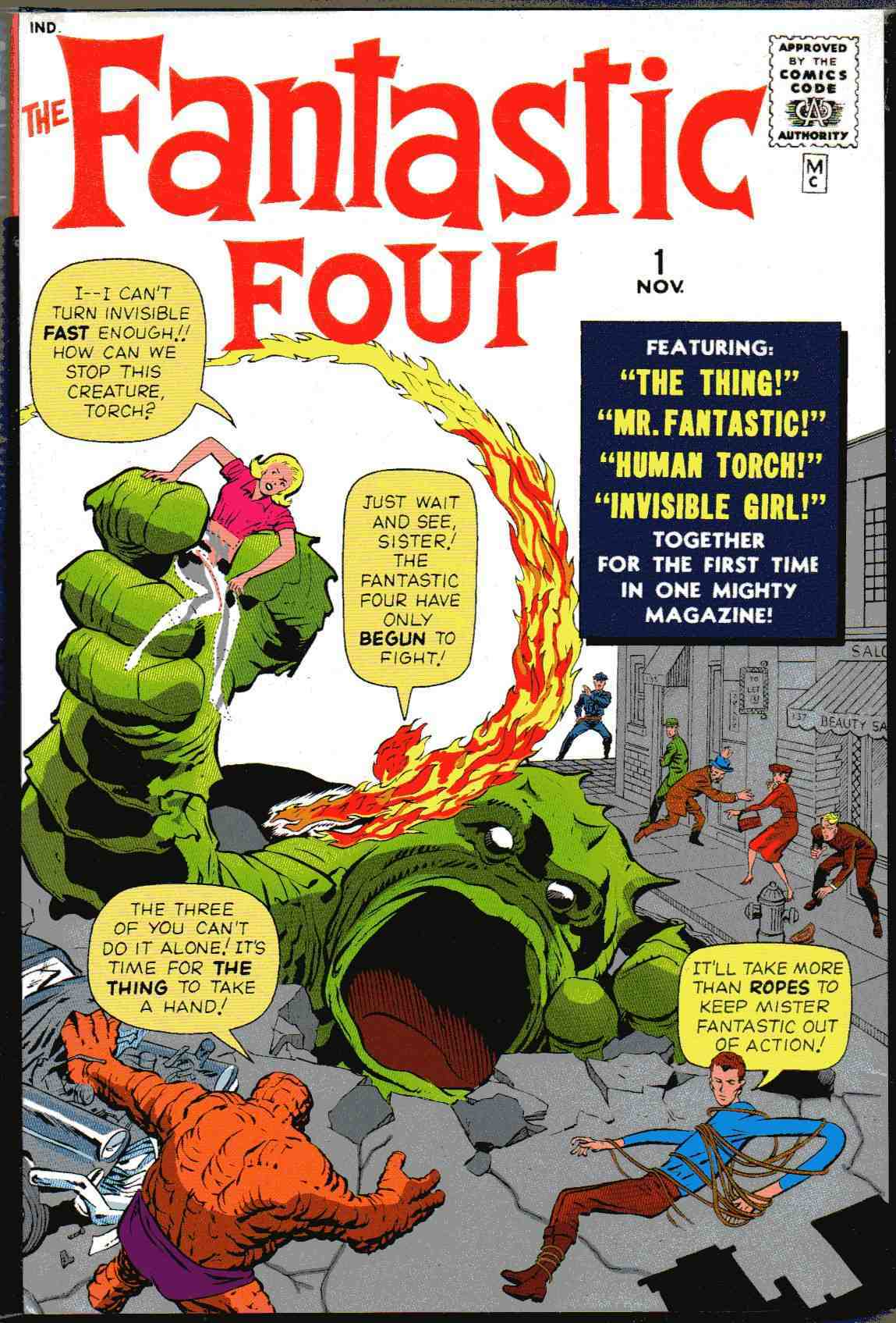 Image result for Fantastic Four #1