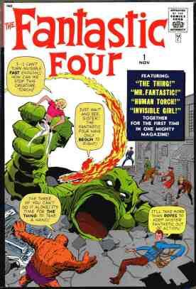 Image result for fantastic four #1